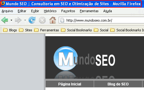 Title Tag do Mundo SEO no Titulo do Navegador