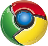 Logotipo oficial do Google Chrome